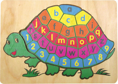 picture up alphabets-tortoise